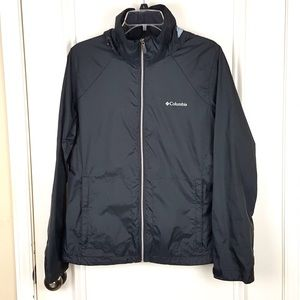 Columbia | Black Switchback II Rain Jacket L